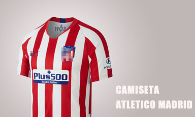 camiseta atletico madrid