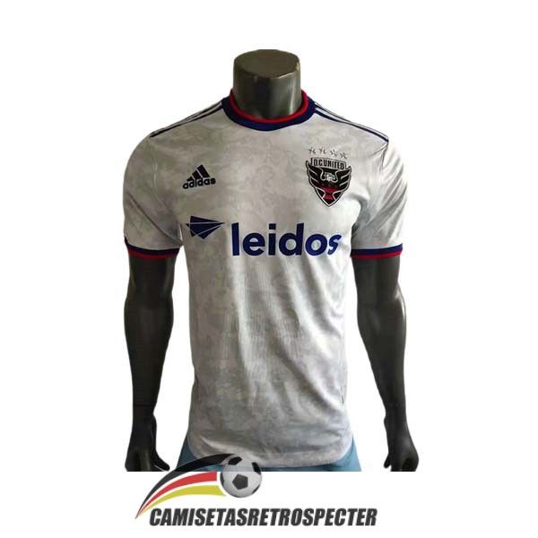 D.C united 2021-2022 segunda version player camiseta