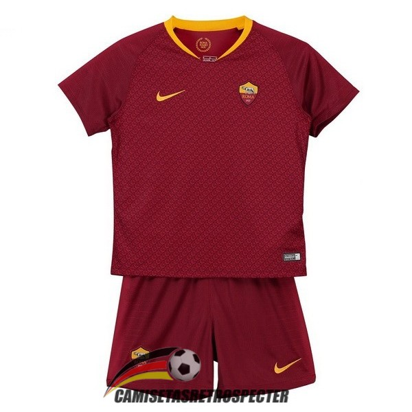 as roma 2018-2019 primera nino camiseta
