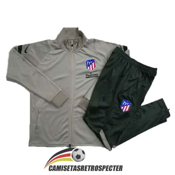 atletico de madrid 2020-2021 marron chaqueta