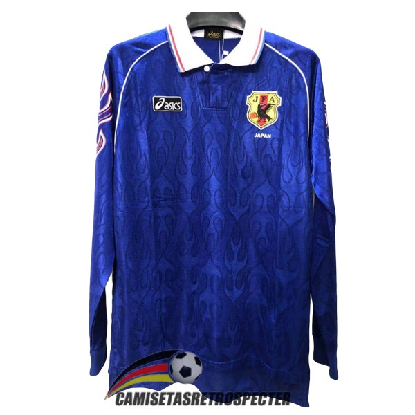 japon retro 1998-1999 primera manga larga camiseta
