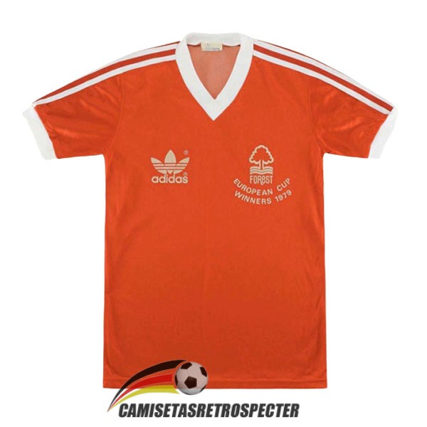 nottingham forest retro 1978-1979 primera camiseta