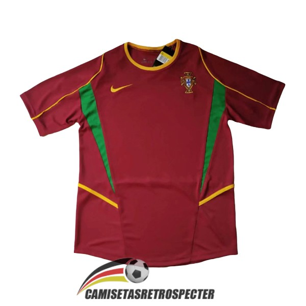 portugal retro 2002 primera camiseta