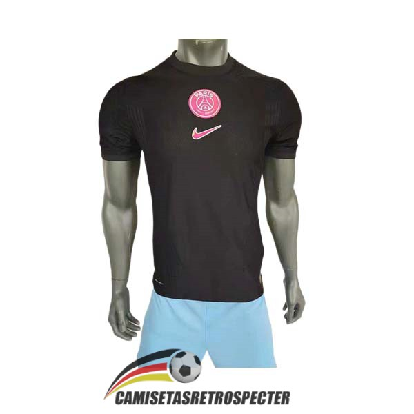 psg edicion especial version player 2021-2022 negro camiseta