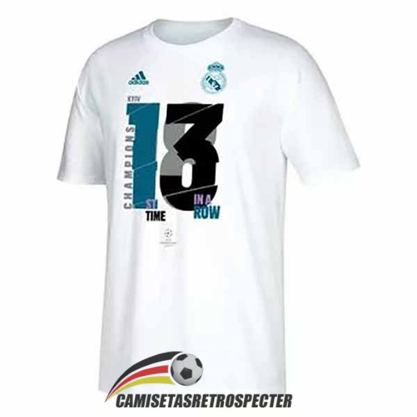 real madrid 13 champions league blanco camiseta