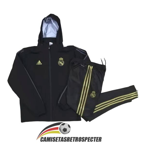 real madrid 2019-2020 negro rompevientos